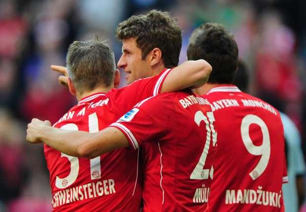 Bayern veegt Mainz na rust van de mat