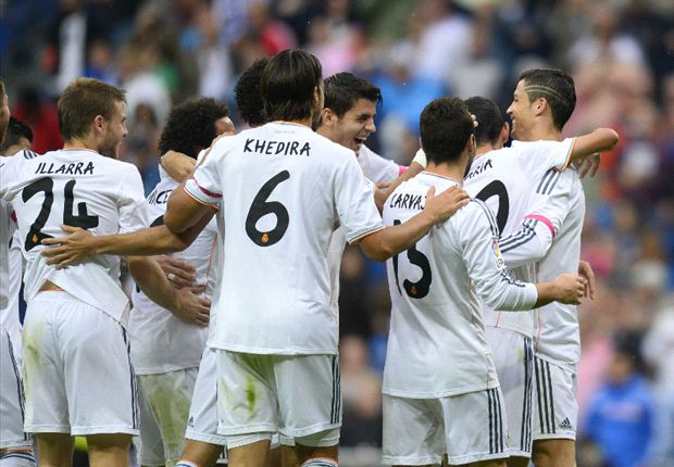 Real Madrid 2-0 Malaga: Di Maria and Ronaldo seal Blancos victory