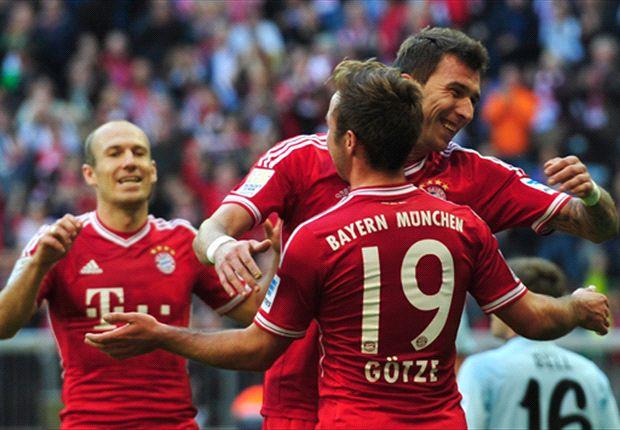 Dank Mario Götze durfte der FC Bayern München auch gegen Mainz jubeln