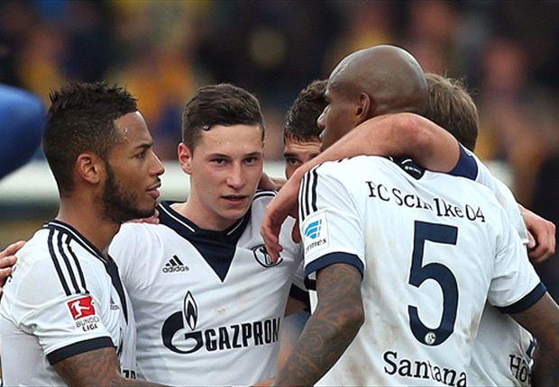 Schalke 04 im Glück: Last-Minute-Treffer gegen Eintracht Braunschweig