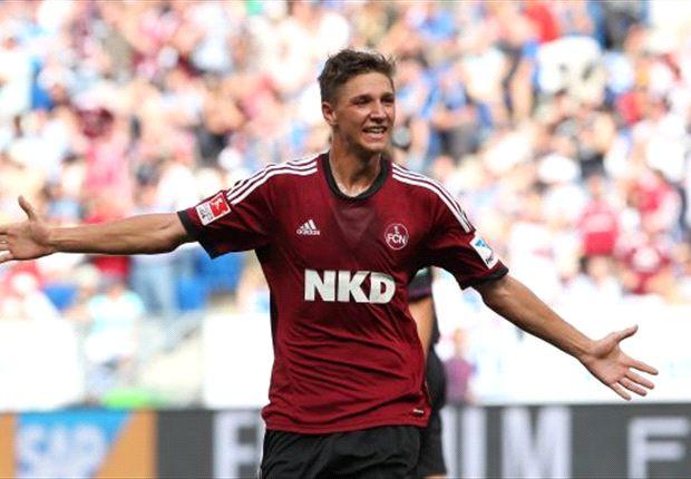 Konnte mit Nürnberg einen Punkt aus Frankfurt entführen - Niklas Stark