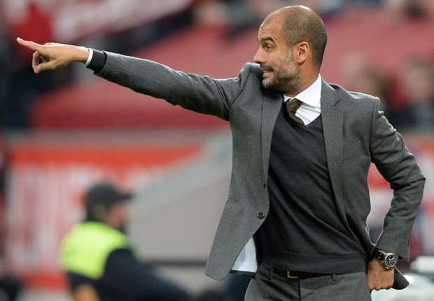 Bayern Munich manager Pep Guardiola