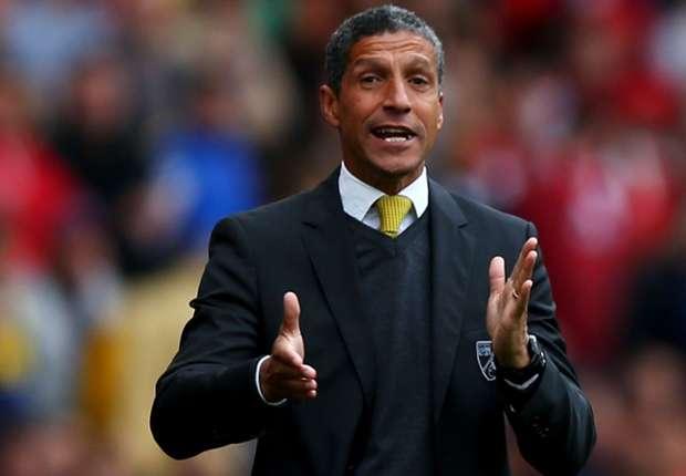 Norwich City boss Hughton feels win flattered Arsenal