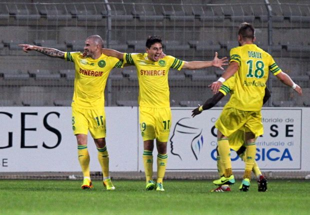 Bedoya scores as Nantes advances in French League Cup