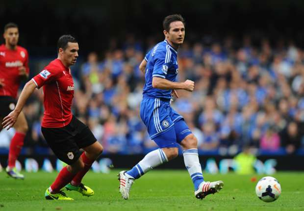 Lampard hails Oscar impact in Cardiff win