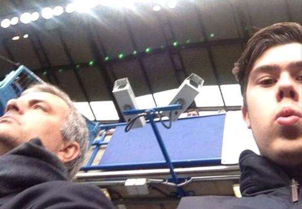 La foto publicada por el hincha de Chelsea en su Twitter