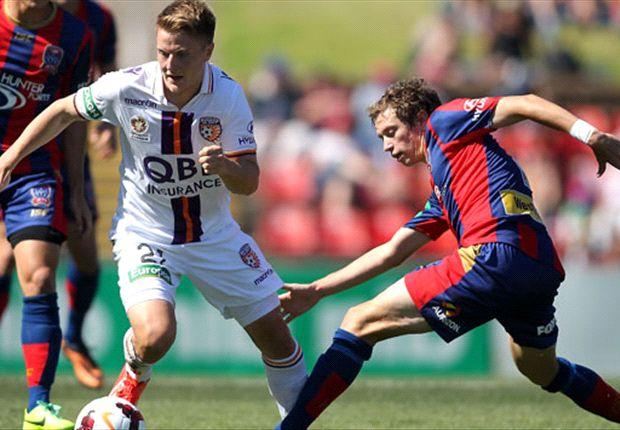 Newcastle Jets 0-0 Perth Glory: No goals at Hunter