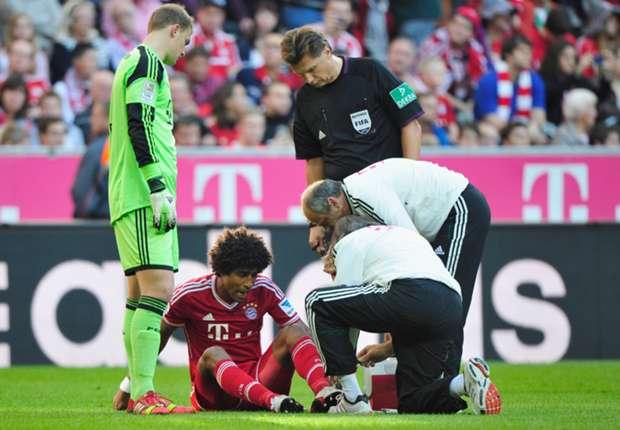 Dante verletzte sich gegen Mainz am linken Sprunggelenk