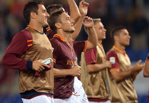 Dipimpin Francesco Totti, AS Roma tampil cemerlang musim ini.