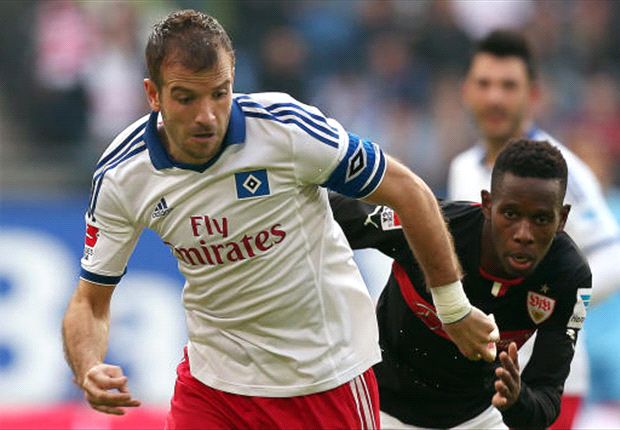 Van der Vaart hoopt tegen Mainz wel weer te spelen