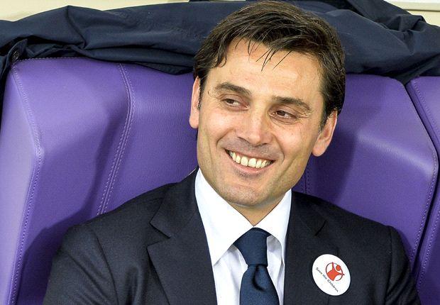 Montella hails Fiorentina trio