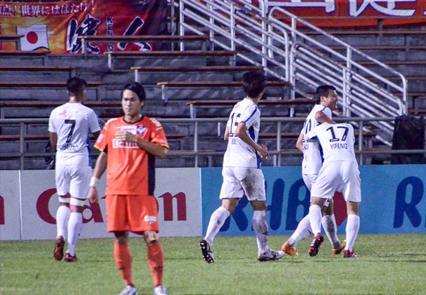 Balestier beat Albirex to leave Tampines as the S.League champions for a third season running.