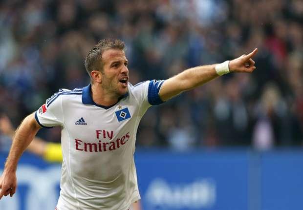 Van der Vaart: Results must improve at Hamburg