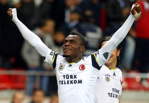 Emenike continues to fire in the goals with a brace against Gaziantepspor
