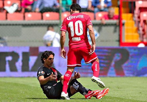 Toluca aún no conoce la gravedad de la lesión de Sinha