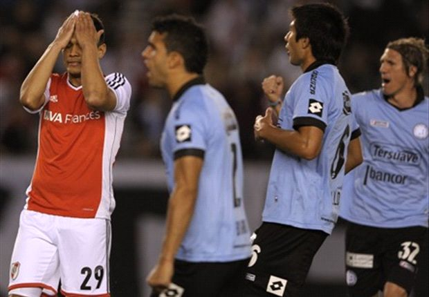 River igualó sin goles ante Belgrano