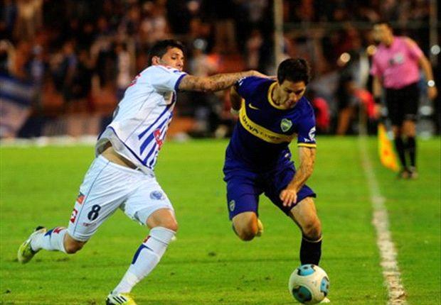 Boca y Godoy Cruz empataron 2 a 2