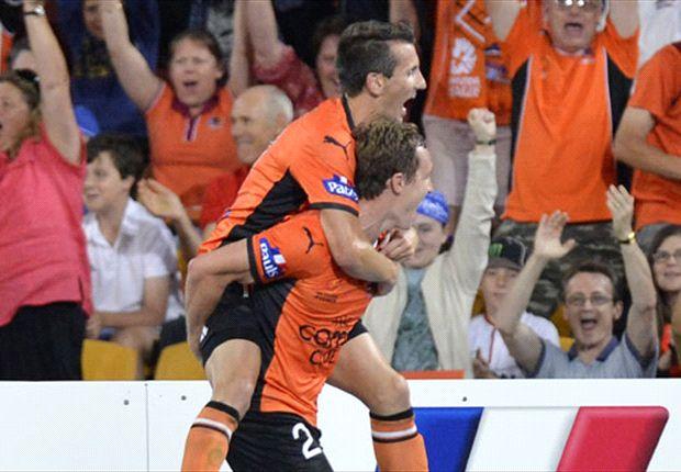 Brisbane Roar celebrate
