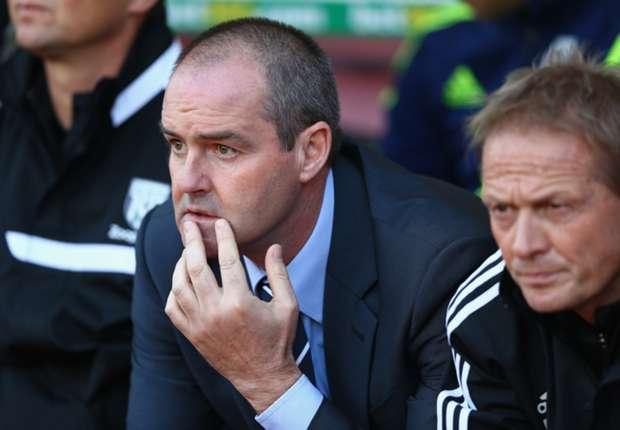West Bromwich Albion manager Steve Clarke.