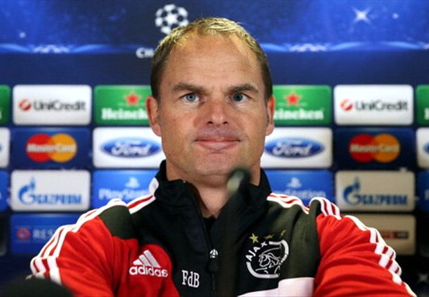 Ajax no worse than Celtic - De Boer
