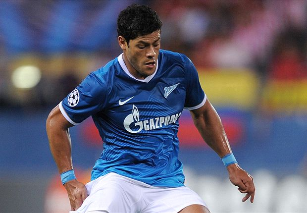 Hulk keen on Tottenham move