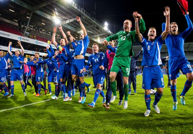Island hat die Chance auf ihre erste WM-Teilnahme