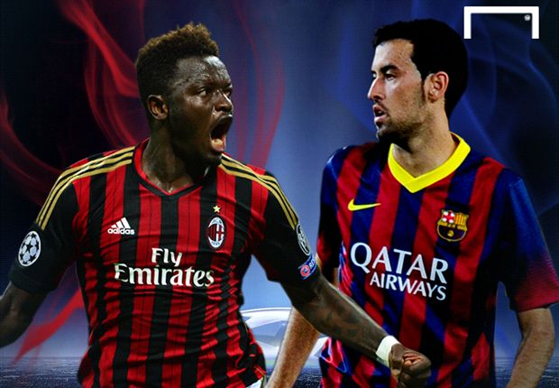 PREVIEW Liga Champions: AC Milan - Barcelona