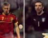 Belgique-Italie, le onze combiné