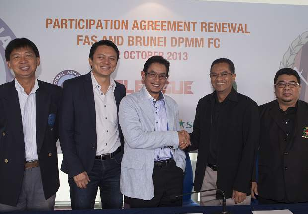 Brunei DPMM have renewed their S.League participation for a further two years.