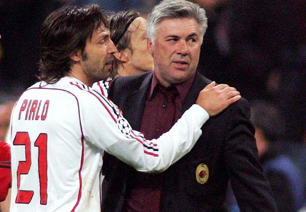 Andrea Pirlo und Carlo Ancelotti - sind die beiden bald wieder vereint?