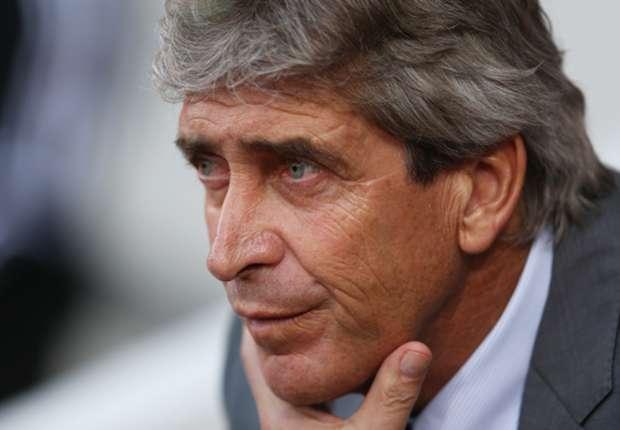 Manchester City boss Pellegrini slams CSKA pitch