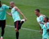 Pepe no se entrena con Portugal