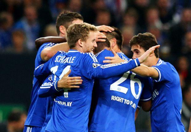 Schalke 0-3 Chelsea: Torres double sees off die Knappen
