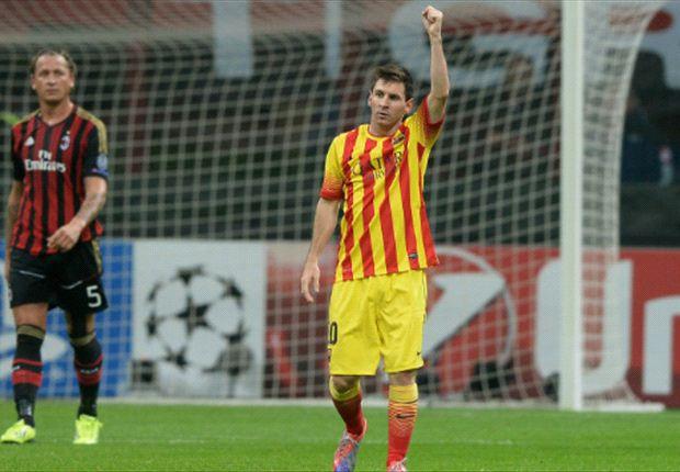 AC Milan 1-1 Barcelona: Messi strikes to deny Milan