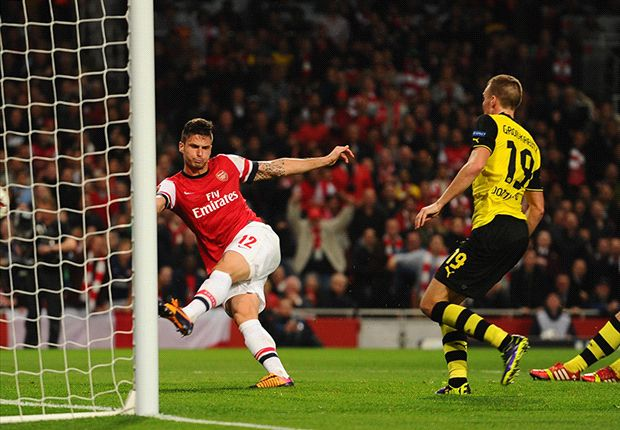 Arsenal 1-2 Borussia Dortmund: Lewandowski late show punishes Gunners