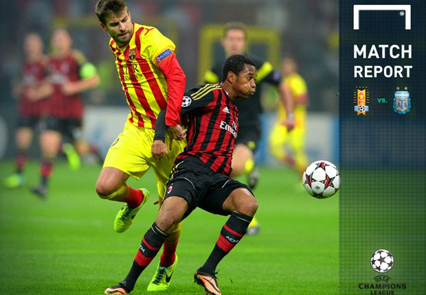 Sempat Unggul, AC Milan Belum Mampu Taklukkan Barcelona