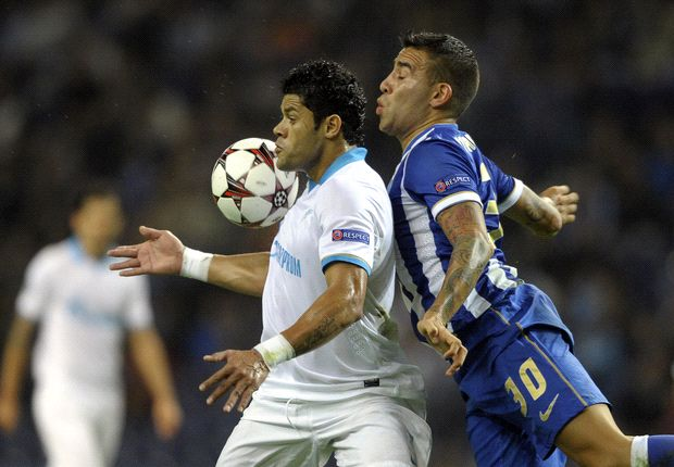 Porto 0-1 Zenit: Late Kerzhakov header defeats Dragoes