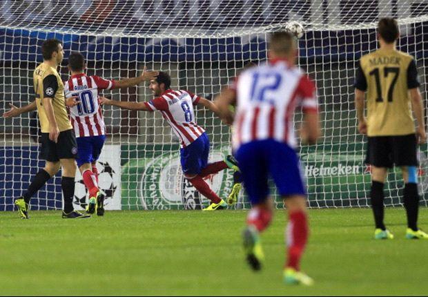 Atlético de Madrid venció a Austria Wien