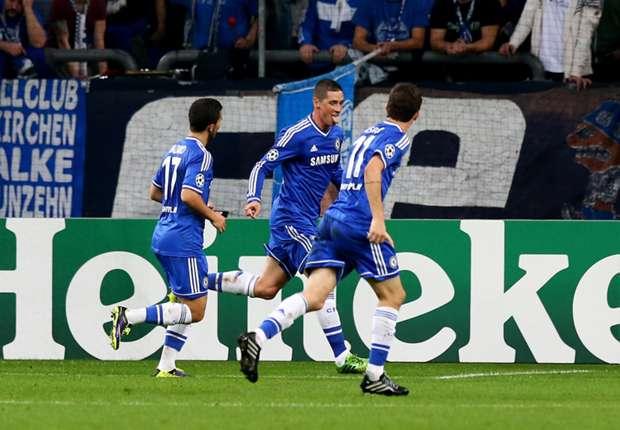 Fernando Torres Hancurkan Schalke