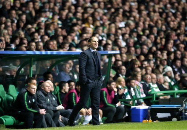 Frank De Boer: Ajax deserved Celtic victory