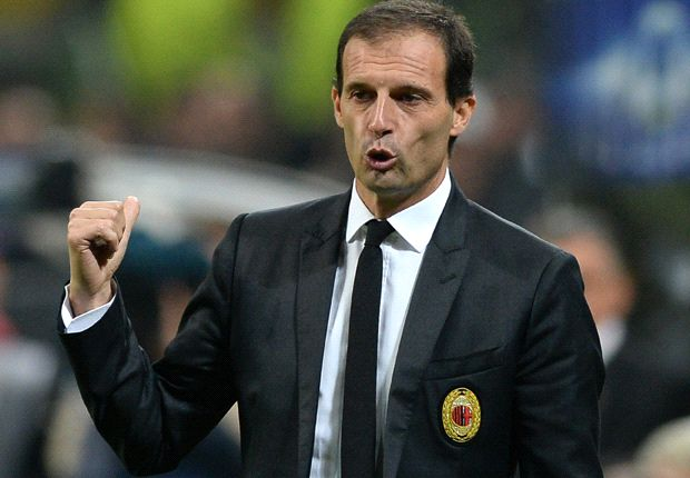 AC Milan need a 'jolt' up the table - Allegri