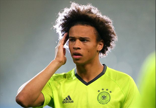 Sane in Manchester to complete City transfer