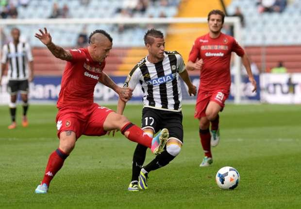 Udinese forward Nico Lopez