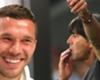 """Low 'poco attento' in panchina, Podolski: """"Tutti ci annusiamo"""""""