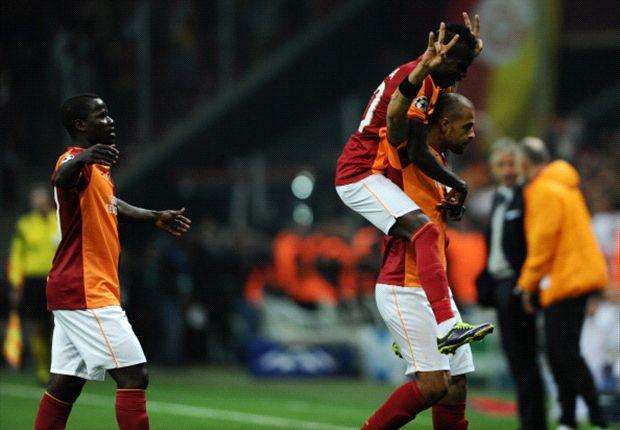 Galatasaray in één helft klaar met Kopenhagen