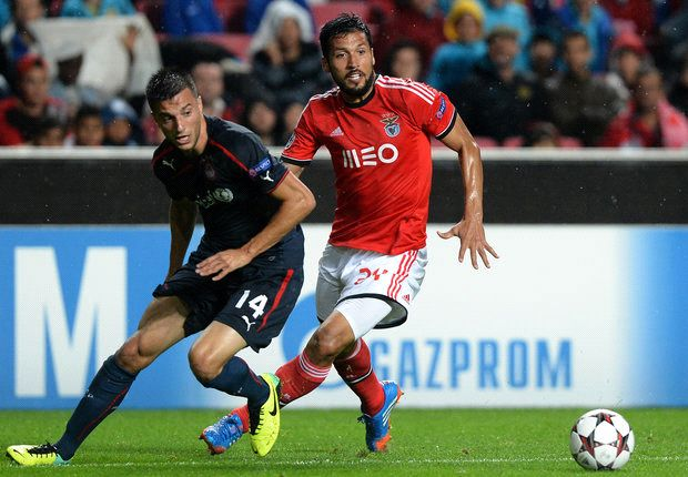 Benfica 1-1 Olympiakos: Cardozo makes late splash in Lisbon