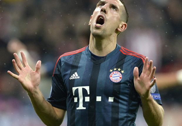 Ribery ruled out of Dortmund clash