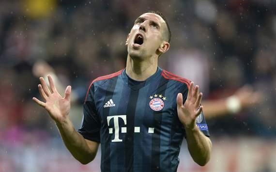 Franck Ribery Bayern Munich Viktoria Pilzen UEFA Champions League 10232013