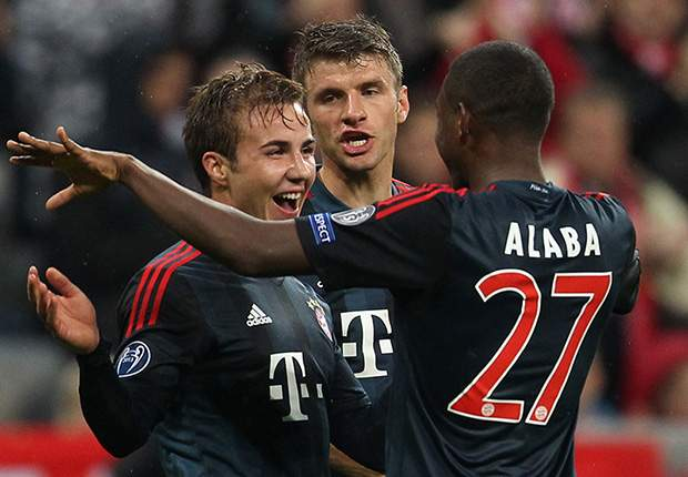 Gotze cool on Bayern Champions League hopes