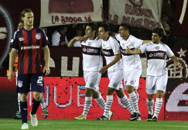 Torneo Inicial 2013: Lanus venció 3 a 2 a San Lorenzo